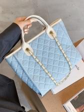 Vintage Large Capacity Handle Tote Bags