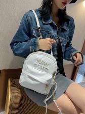 Simple Vintage Travel Women Backpack