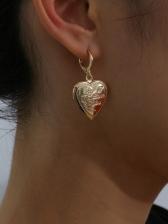 Faux Pearl Butterfly Heart Geometric Earrings