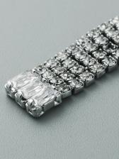 Creativity Cross Zircon Long Earrings For Women