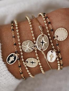 National Style Fashion Women Bracelet Set