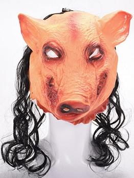 Halloween Performance Props Pig Head Mask
