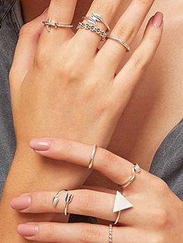 Creative Wholesale Fashion Ring Combination Set