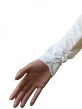 Letter Contrast Color Long Sleeve Skinny 2 Piece Sets