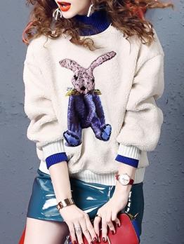 Fashion Fur Thicken Loosen Sweatshirt