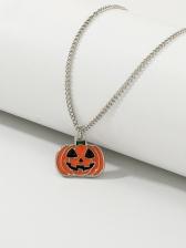 Cute Fashion Spoof Pumpkin Halloween Necklace