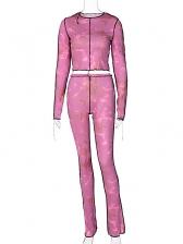 Fashion Autumn Long Tracksuit Set For Women