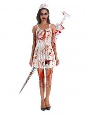 Halloween Fancy Dress Party Play Nurse Zombie Dresses