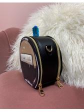 Perfume Bottle Shape Removable Chain Shoulder Bags