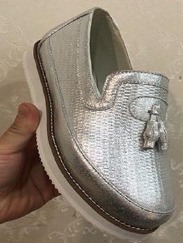 Breathable Casual Women Slip On Flat Sneaker