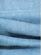Fashion High Waist Frayed Skinny Jeans
