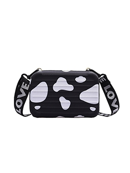 Chic Printed Box Shape Shoulder Bags For Women