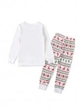 Fashion Christmas Reindeer T Shirt With Pants