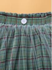 Sweet Guaze Patchwork Girls Skirt