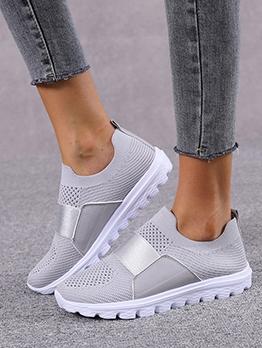 Casual Flat Slip On Sneakers Womens