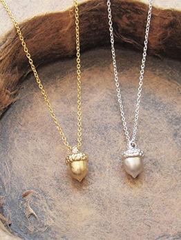 Korean Fresh Simple Pendant Women Necklace