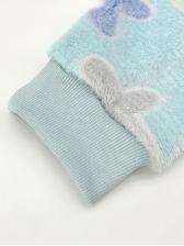 Autumn Wear Fleece Crop Top And Short Set