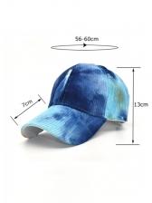 Tie Dye Fashion Trendy Trucker Hat