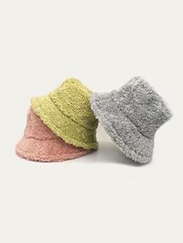 Casual Plush Warmth Fishing Hat