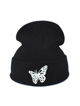 New Bow Warmth Knitting Cap
