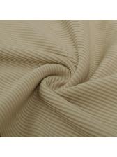 Contrast Color Long Sleeve Zipper Casual Jumpsuits