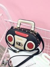 Creative Audio Shape Women Crossbody Bag