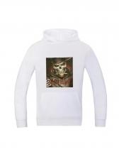 Fashion Print Long Sleeve Hoodies For Men