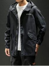 New Hoodie Loose Cargo Outwear