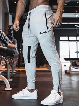 Fitness Patchwork Tracksuit Bottoms Men