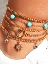 Casual Hollow Out Bracelet Design Sets