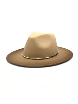 Woolen Winter Unisex Jazz Fedora Hat