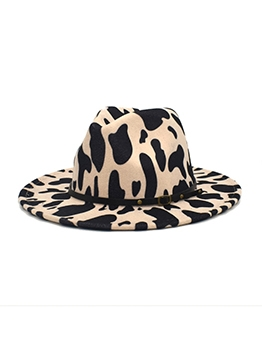 Contrast Color Unisex Latest Fedora Cap