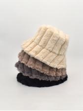Japanese Style Plush Casual Bucket Cap