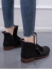 Hot sale Low-Heeled Women Winter Boots