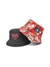 Print Letter Trendy Hip Hop Bucket Cap