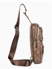 Simple Style High Capacity Chest Bag For Men