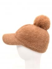 Online Solid Korean Winter Baseball Cap