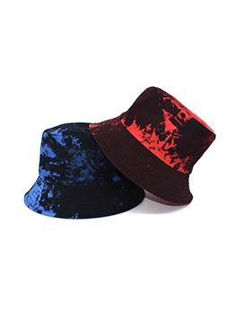 Hip Hop Tie Dye Doodle Fishing Hat