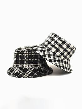 Korea Style New Plaid Autumn Hat