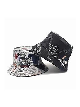 Fashion Print Breathable Fishing Hat