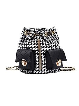 Fashion Trendy Korean Chain Women Backpacks