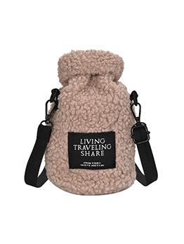 Japanese Trendy Winter Plush Casual Crossbody Bag