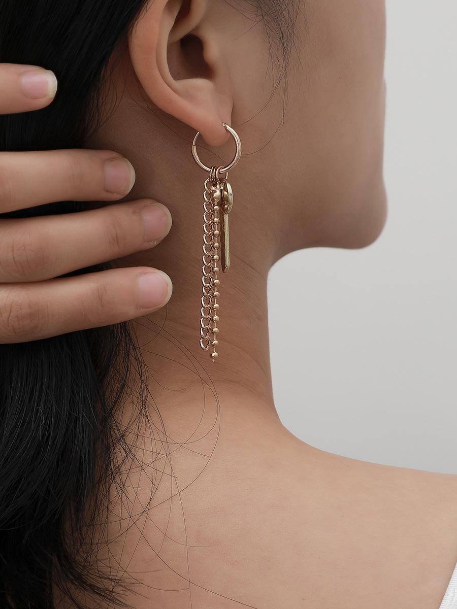 Key Design Simple Fashion Casual Earrings
