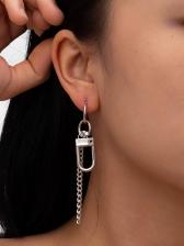 Fashion Punk Style Street Pendant Earrings