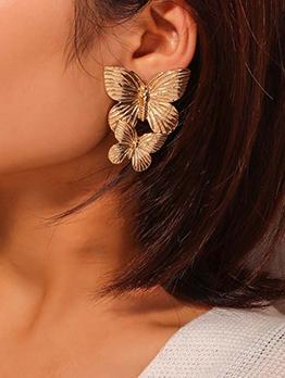 Fashion Create Design Butterfly Earrings