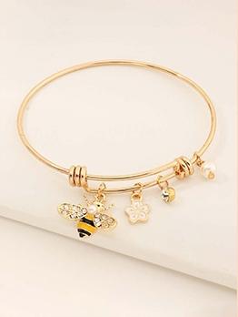 Simple Bees Women Cute Bracelets