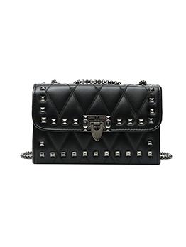 Fashion Rivet Chain Shoulder Bag