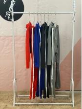 Contrast Color Zipper Up Ladies Tracksuits