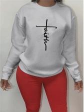 Casual Autumn Fashion Women Sweatshirt