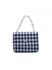 Fashion Houndstooth Handbags For Women